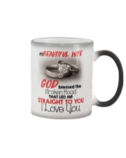 MY BEAUTIFUL WIFE Color Changing Mug tile