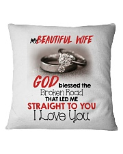 MY BEAUTIFUL WIFE Square Pillowcase tile