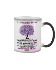 DAD TO DAUGHTER IN LAW Color Changing Mug thumbnail