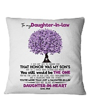DAD TO DAUGHTER IN LAW Square Pillowcase thumbnail