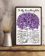 TO MY GRANDDAUGHTER 16x24 Poster lifestyle-poster-3