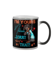 HUSBAND T-SHIRT Color Changing Mug tile