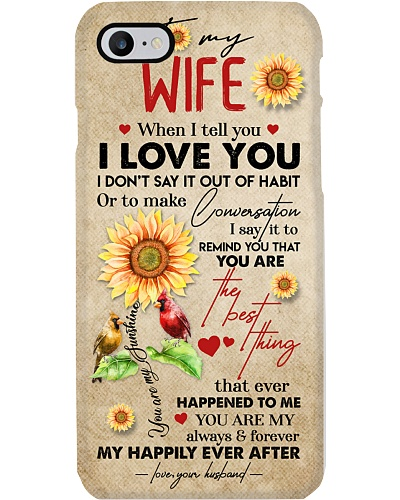 TO MY WIFE - SUNFLOWER - I LOVE YOU