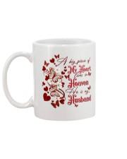 MY ANGEL HUSBAND - BUTTERFLY - A BIG PIECE  Mug back