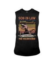 Son-in-law - Dinosaur - You Volunteered - T-Shirt Sleeveless Tee thumbnail