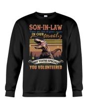 Son-in-law - Dinosaur - You Volunteered - T-Shirt Crewneck Sweatshirt thumbnail
