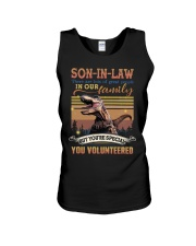 Son-in-law - Dinosaur - You Volunteered - T-Shirt Unisex Tank thumbnail
