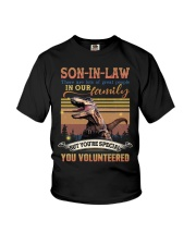Son-in-law - Dinosaur - You Volunteered - T-Shirt Youth T-Shirt thumbnail