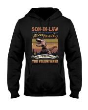 Son-in-law - Dinosaur - You Volunteered - T-Shirt Hooded Sweatshirt thumbnail