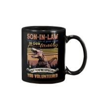 Son-in-law - Dinosaur - You Volunteered - T-Shirt Mug thumbnail