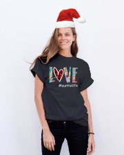 Love auntielife Classic T-Shirt lifestyle-holiday-crewneck-front-1