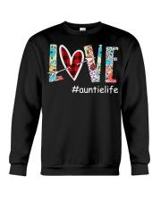 Love auntielife Crewneck Sweatshirt thumbnail