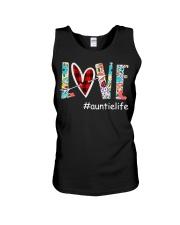 Love auntielife Unisex Tank thumbnail