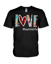 Love auntielife V-Neck T-Shirt thumbnail