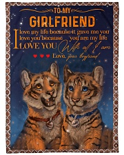 "TO MY GIRLFRIEND Large Fleece Blanket - 60"" x 80"" front"