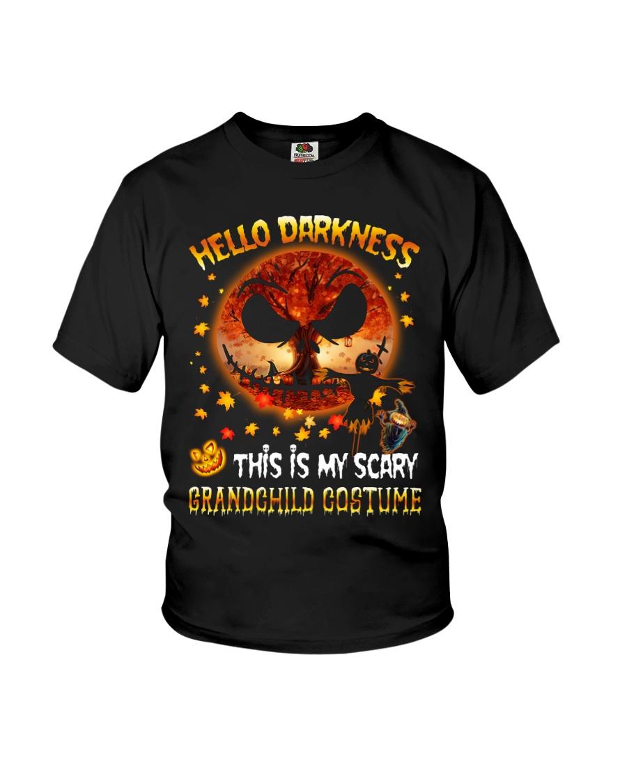Grandma and Grandpa to Grandchild - Hello  Youth T-Shirt
