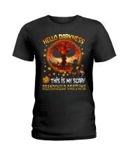 Grandma and Grandpa to Grandchild - Hello  Ladies T-Shirt thumbnail
