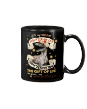 TO MY DAUGHTER-IN-LAW - SAURUS - GIFT OF LIFE Mug tile