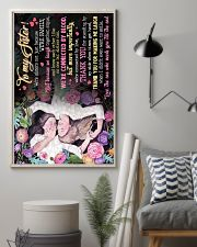 TO MY SISTER - THANK YOU 16x24 Poster lifestyle-poster-1
