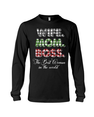 Wife Mom Boss The best woman in the world