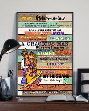 TO MY MOTHER-IN-LAW - HIPPIE - THANK YOU 16x24 Poster lifestyle-poster-2