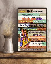 TO MY MOTHER-IN-LAW - HIPPIE - THANK YOU 16x24 Poster lifestyle-poster-3