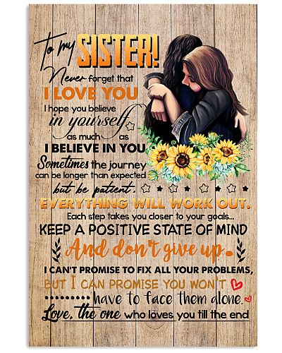 TO MY SISTER - GIRLS - I LOVE YOU