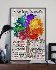 BONUS MOM TO BONUS DAUGHTER 16x24 Poster lifestyle-poster-2