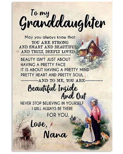 TO MY GRANDDAUGHTER - FROM GRANDMA