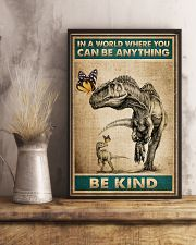Dinosaurs - In A world Where You Can Be Anything 16x24 Poster lifestyle-poster-3