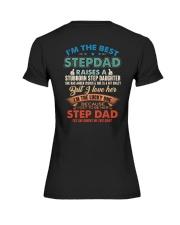 The best kind of Step dad Premium Fit Ladies Tee thumbnail