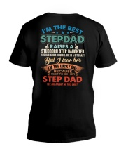 The best kind of Step dad V-Neck T-Shirt thumbnail