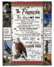 """TO MY FIANCE'E Small Fleece Blanket - 30"""" x 40"""" front"""