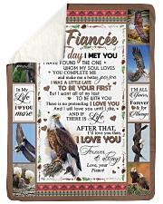 "TO MY FIANCE'E Large Sherpa Fleece Blanket - 60"" x 80"" thumbnail"