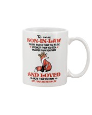 SON-IN-LAW - FOX - LOVED MORE THAN YOU KNOW Mug front