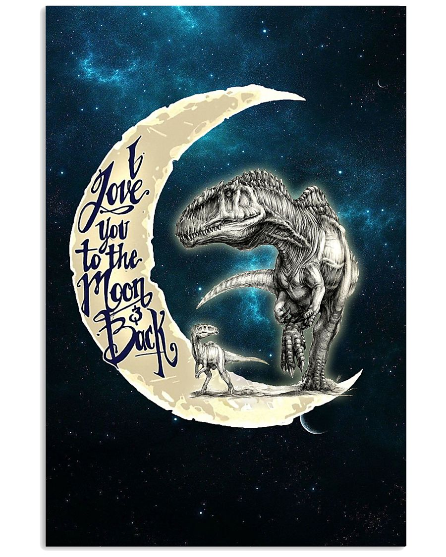 TO KIDS - MOON - LOVE YOU TO THE MOON 16x24 Poster