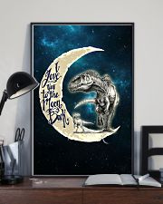 TO KIDS - MOON - LOVE YOU TO THE MOON 16x24 Poster lifestyle-poster-2
