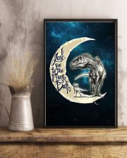 TO KIDS - MOON - LOVE YOU TO THE MOON 16x24 Poster lifestyle-poster-3