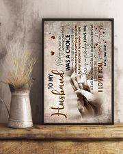 To Husband - Hand In Hand - Meeting You Was Fate 16x24 Poster lifestyle-poster-3