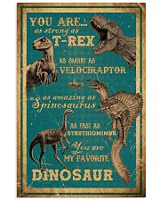Dinosaurs - You Are As Strong As T Rex - Poster 16x24 Poster front