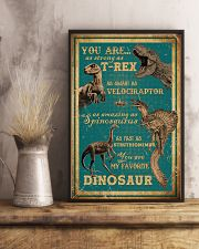 Dinosaurs - You Are As Strong As T Rex - Poster 16x24 Poster lifestyle-poster-3