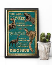 Dinosaurs - You Are As Strong As T Rex - Poster 16x24 Poster lifestyle-poster-8