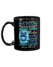 MUG - TO MY SON-IN-LAW - OWL - CIRCUS Mug back