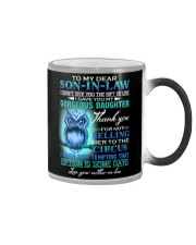 MUG - TO MY SON-IN-LAW - OWL - CIRCUS Color Changing Mug thumbnail