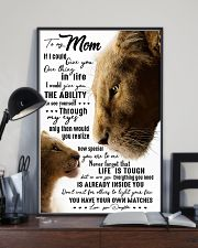 TO MY MOM - LION - IF I COULD 16x24 Poster lifestyle-poster-2