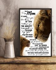 TO MY MOM - LION - IF I COULD 16x24 Poster lifestyle-poster-3