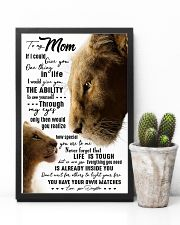 TO MY MOM - LION - IF I COULD 16x24 Poster lifestyle-poster-8