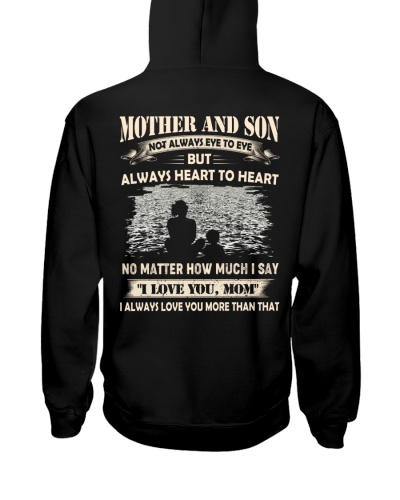 T-SHIRT - MOTHER AND SON - NO MATTER