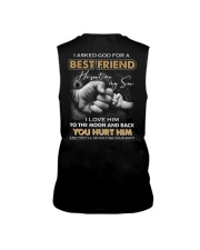 I asked God for a best friend Sleeveless Tee thumbnail