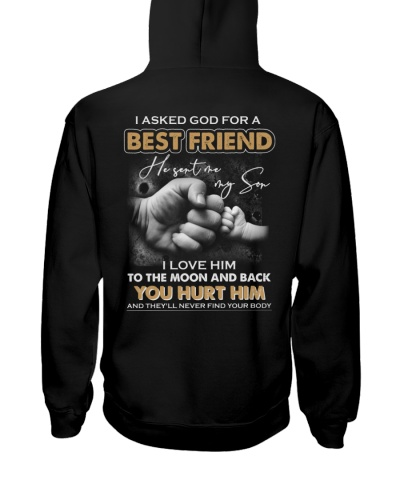 I asked God for a best friend